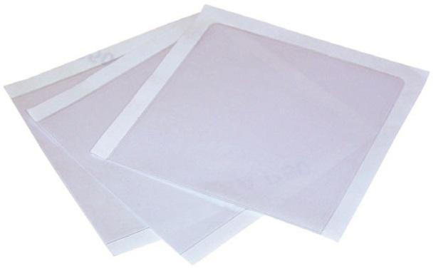 2-1//2 x 3-7//8 Crystal Clear Adhesive Vinyl Pockets 100pk